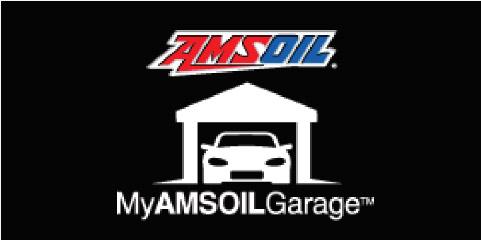 MYAMSOILGarage™ Stores your vehicles maintenance records